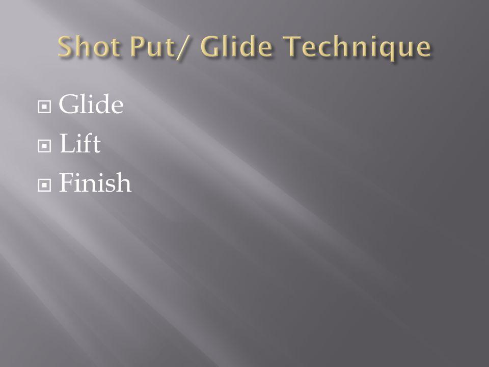  Glide  Lift  Finish