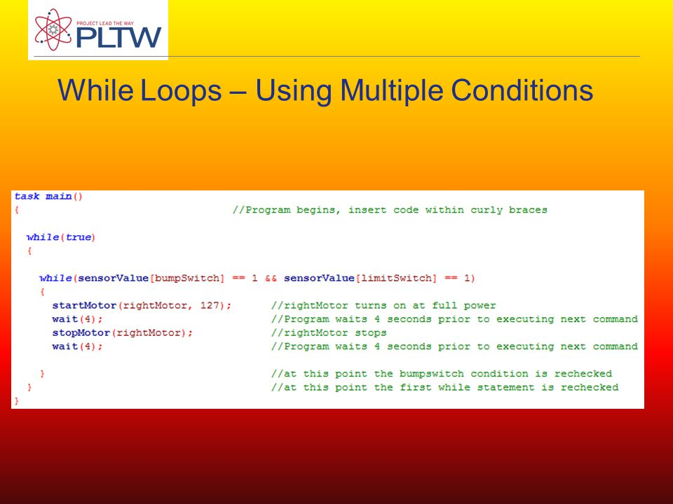While Loops – Using Multiple Conditions