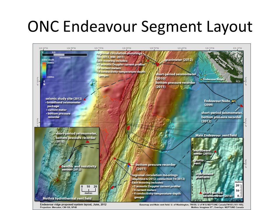 ONC Endeavour Segment Layout
