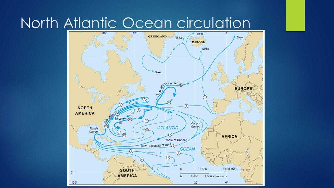 North Atlantic Ocean circulation