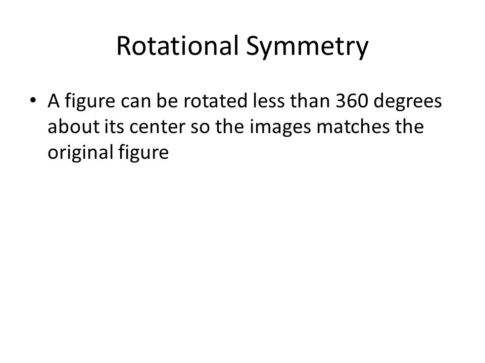 Determine if the star has rotational symmetry.If it does describe the angle of rotation.