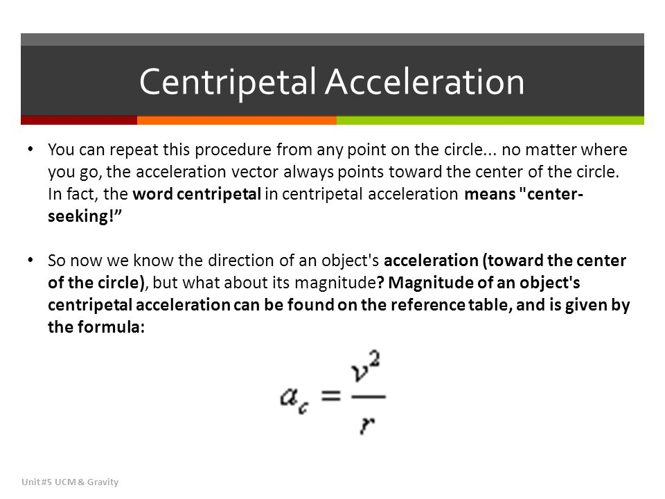 Sample Problem #5 Centripetal Motion Unit #5 UCM & Gravity http://www.aplusphysics.com/courses/honors/ucm/ucm.html