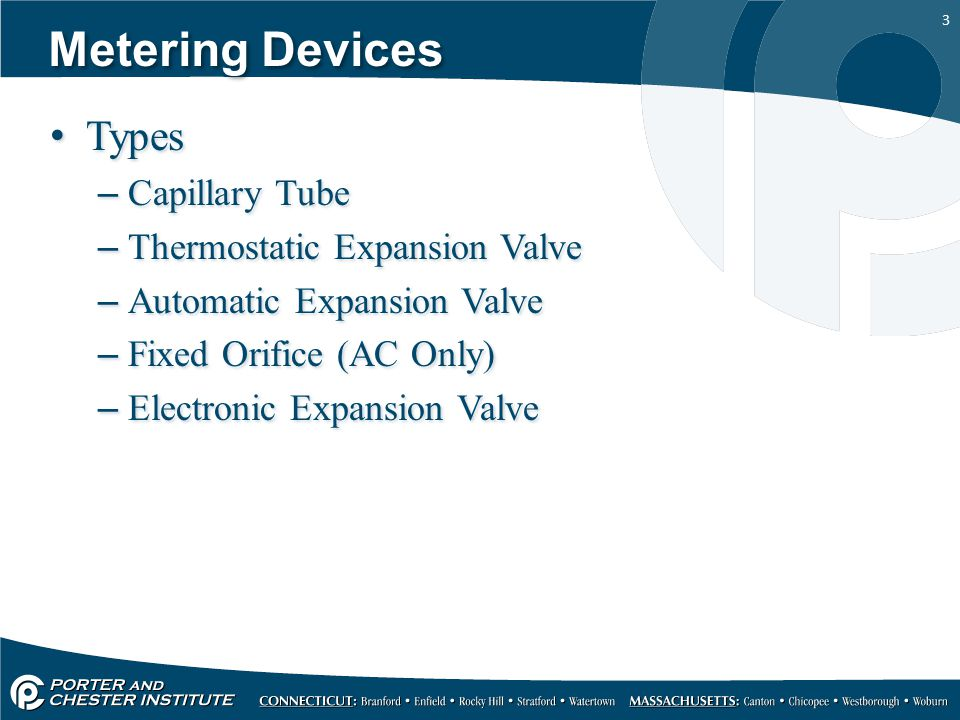 14 Thermostatic Expansion Valve