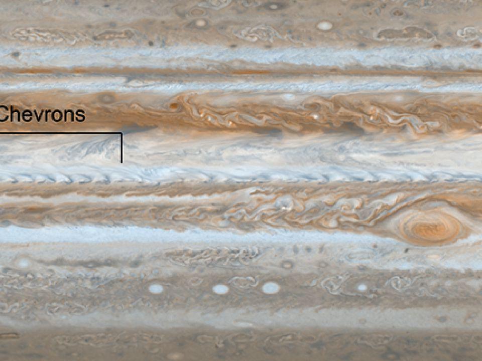 Jupiter's Atmosphere Cassini (2000)