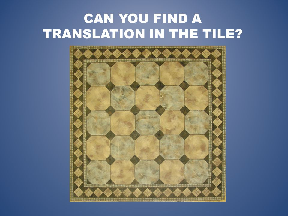 CAN YOU FIND A TRANSLATION IN THE TILE
