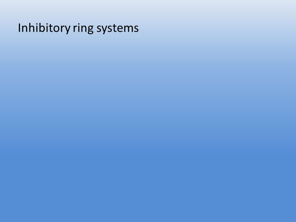Inhibitory ring systems