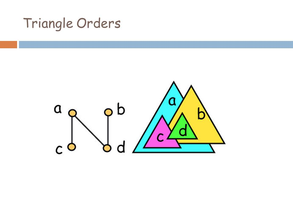 Triangle Orders