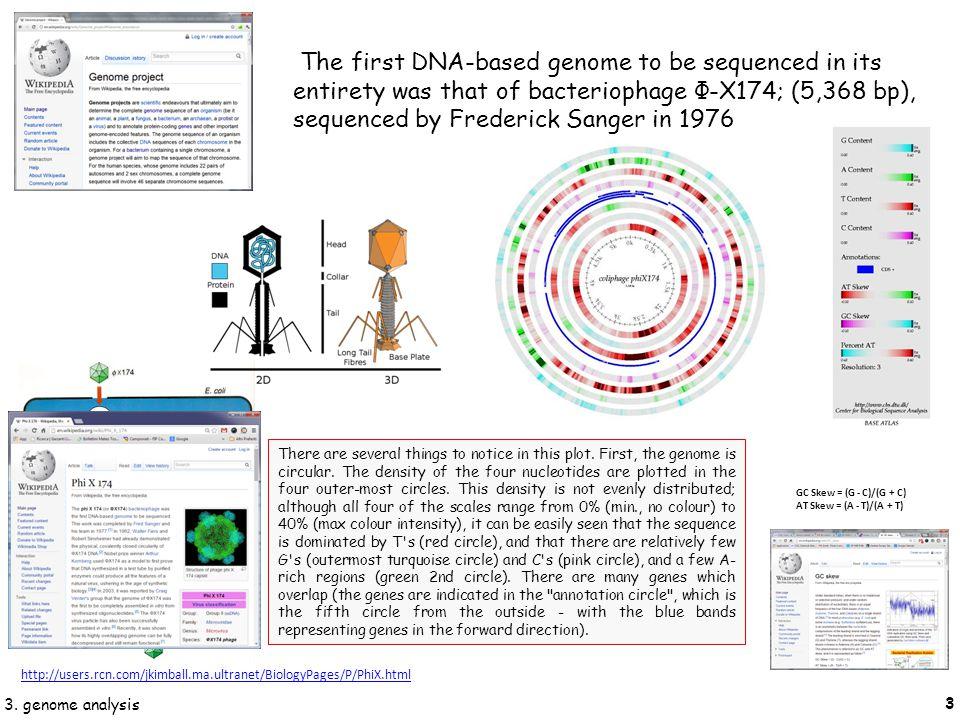 14 3. genome analysis