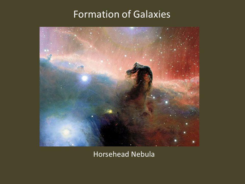 Formation of Galaxies Horsehead Nebula