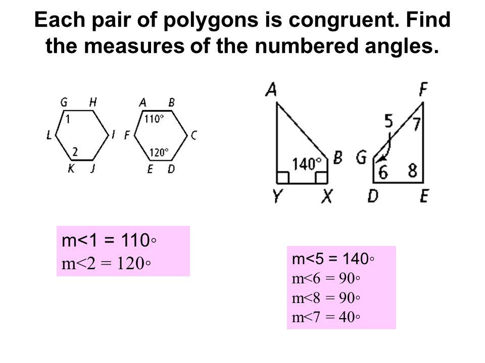Worksheets Congruent Polygons Worksheet congruent polygons worksheet intrepidpath worksheets