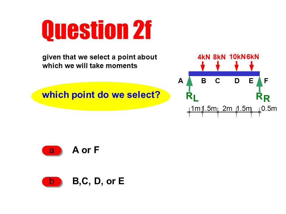 Question 2f which point do we select.