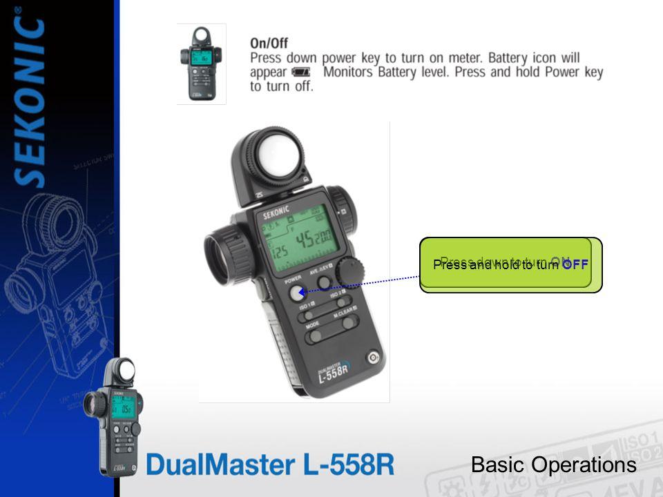 Basic Operations RADIO ICON SELECTED To Select RADIO TRIGGERING hold MODE key in while turning the JOG WHEEL…