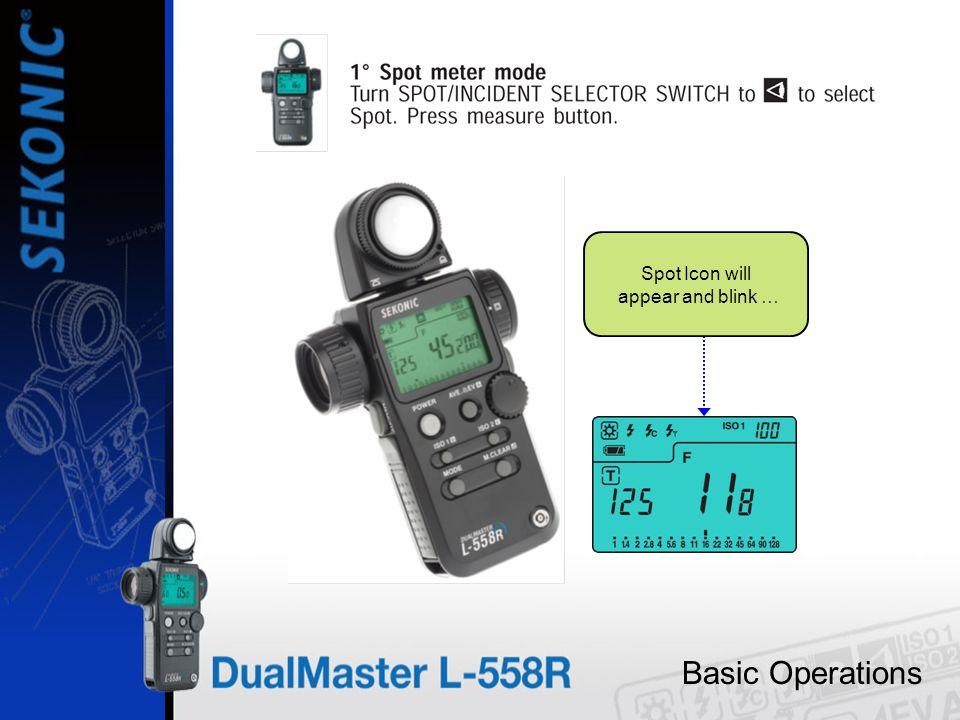 Basic Operations Measurement Modes