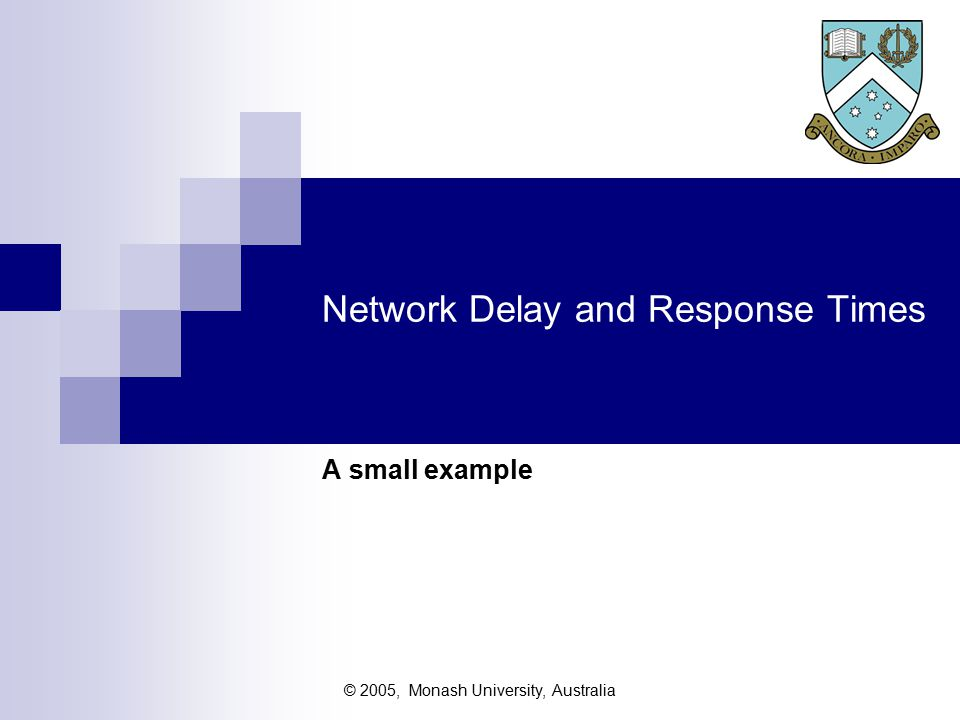 © 2005, Monash University, Australia `Turnpike Effect and Growth (AKA as `Suppressed Demand', Freeway Effect, etc) Well designed systems encourage greater use -  especially enquiry systems Need to add a contingency allowance for the unknown suppressed demand Martin 1968:  If terminals provide a useful service, their utilisation will expand to fill the system capacity