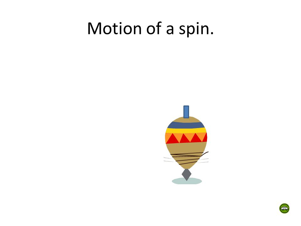 Motion of a spin.