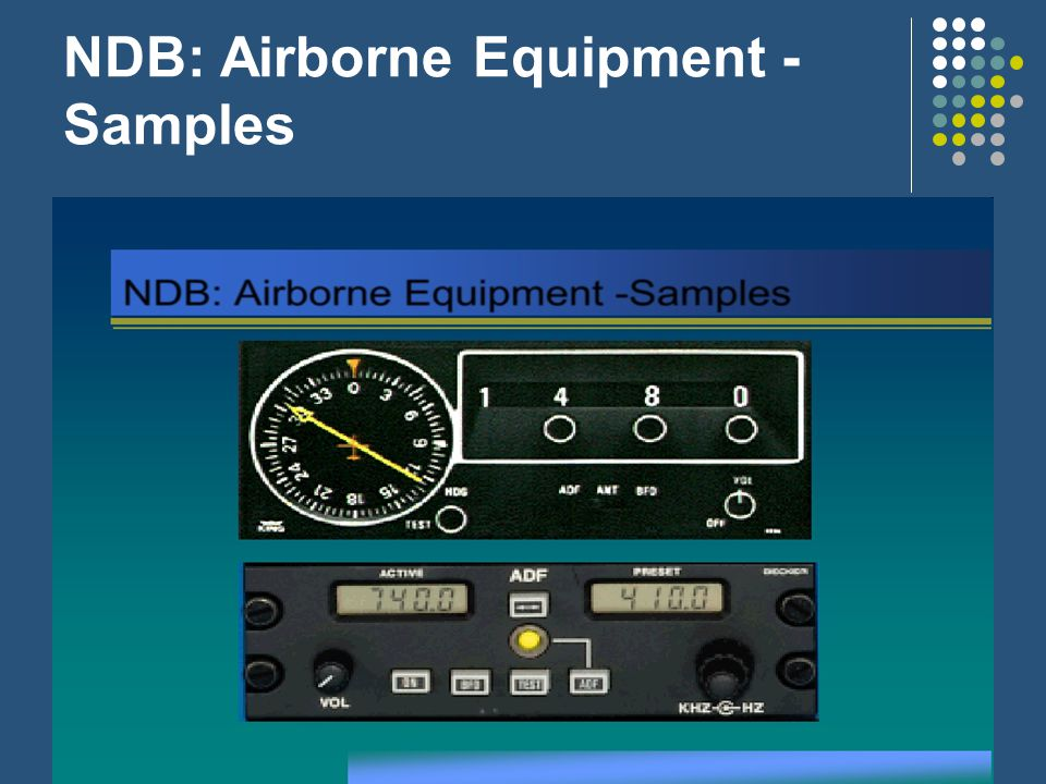 NDB: Airborne Equipment - Samples