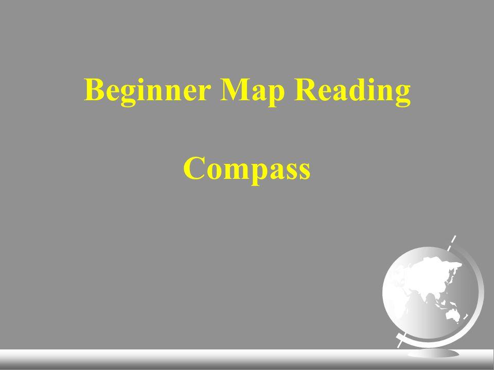 Beginner Map Reading Compass