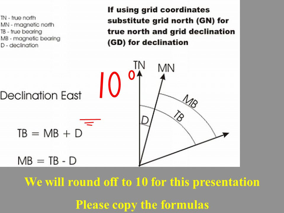 We will round off to 10 for this presentation Please copy the formulas