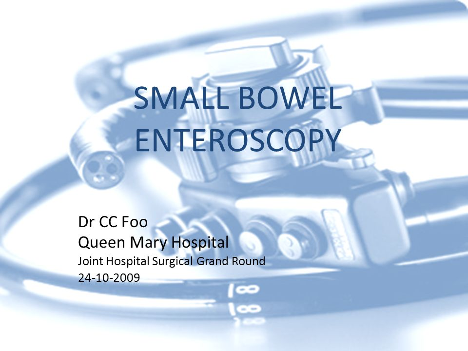 COMPLICATIONS OF SMALL BOWEL ENTEROSCOPY Mucosal stripping Pancreatitis Aspirations Bleeding Gastric, duodenal and jejunal perforations Complication rate generally <1%