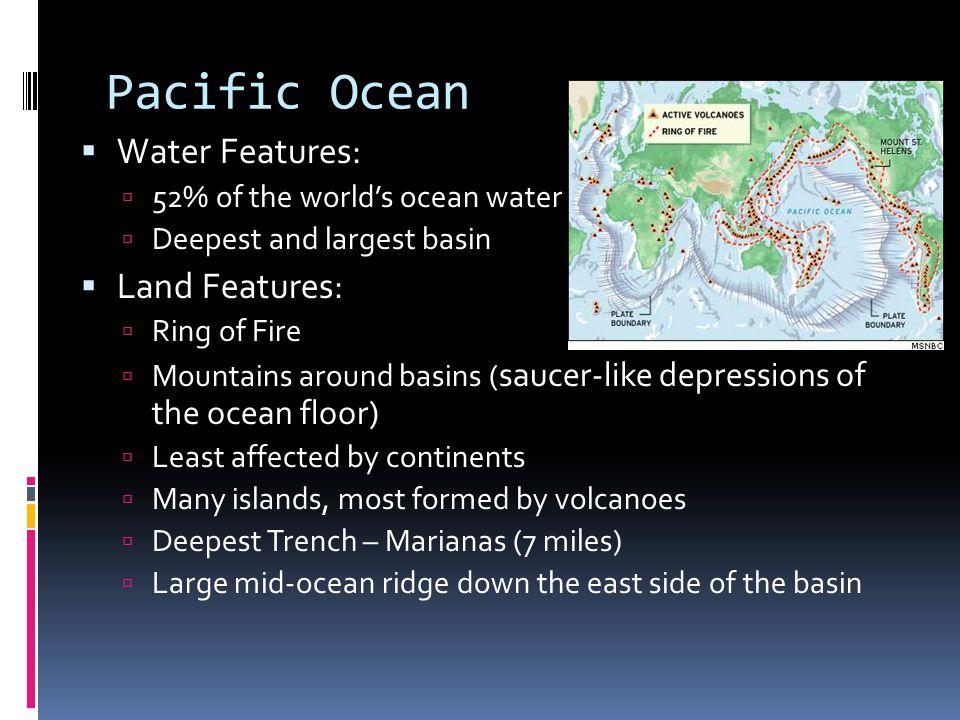Marianas Trench  Between Japan and Australia  Challenger Deep = deepest part of world ocean