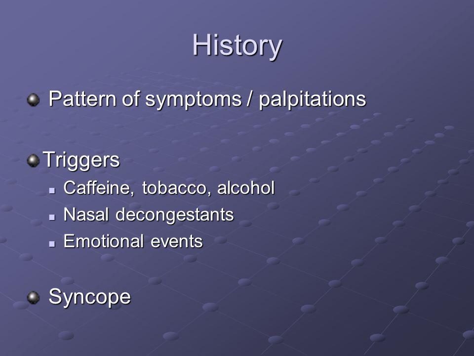 Diagnostic maneuvers - Adenosine