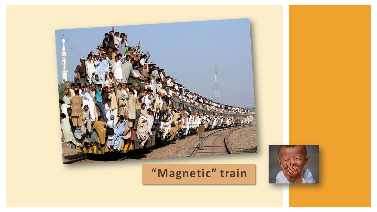 """""""Magnetic"""" train"""