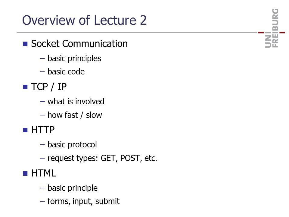 Socket Communication First, some terminology –Process: program with its own resources (i.p.