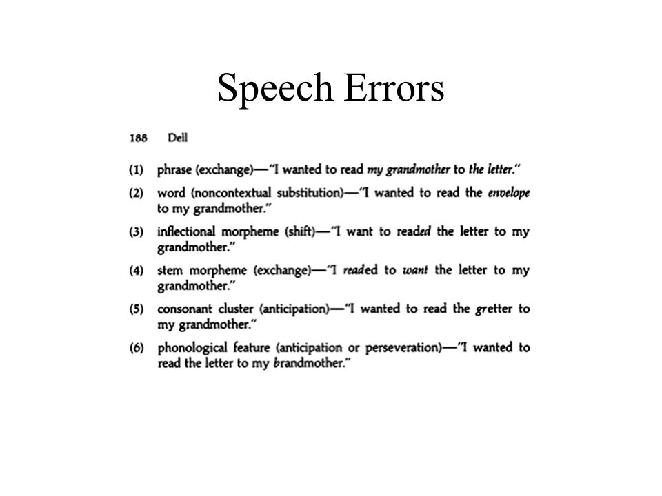 Look-Ahead (Schriefers et al., 1998) Distractor onsets after 200ms