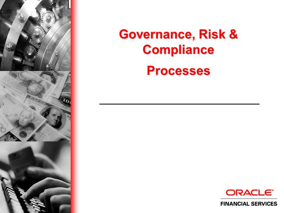 Governance, Risk & Compliance Processes