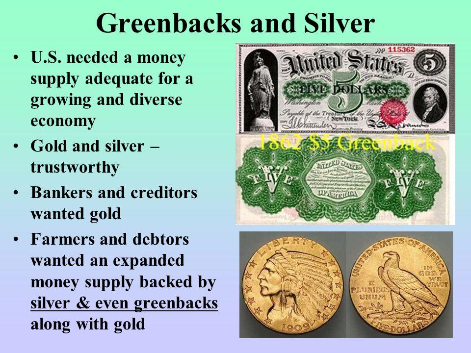Greenbacks and Silver U.S.