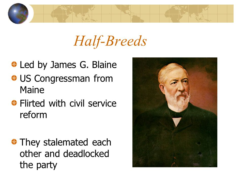 Half-Breeds Led by James G.