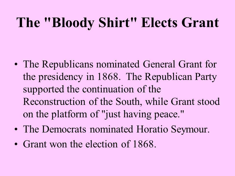 The Blaine-Cleveland Mudslingers of 1884 The Republicans chose James G.