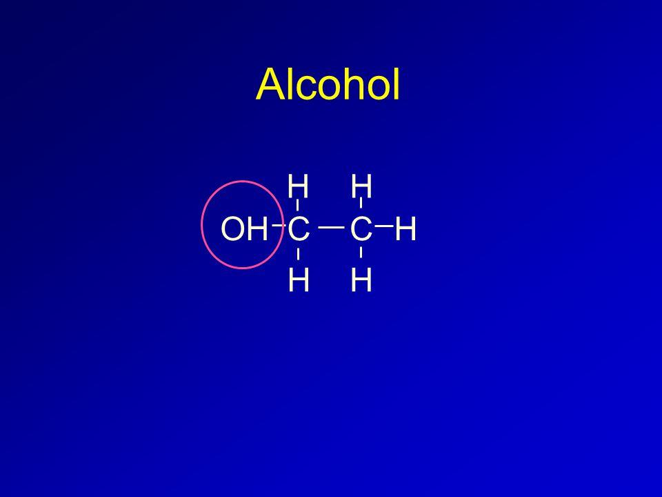 Alcohol CC H HH H HOH