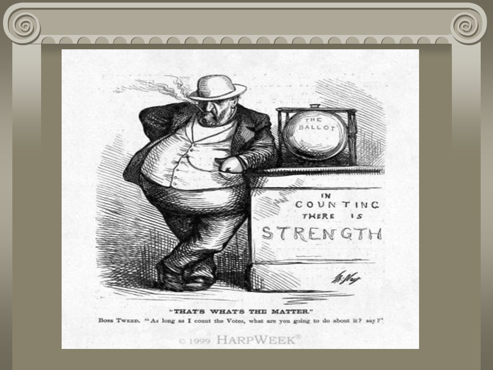 Election of 1880 Candidates – turned their backs on problems of debt-burdened farmers & powerless laborers Democrats harped on Garfield's acceptance of stock dividends in the Credit Mobilier scandal Garfield won & rewarded James G.