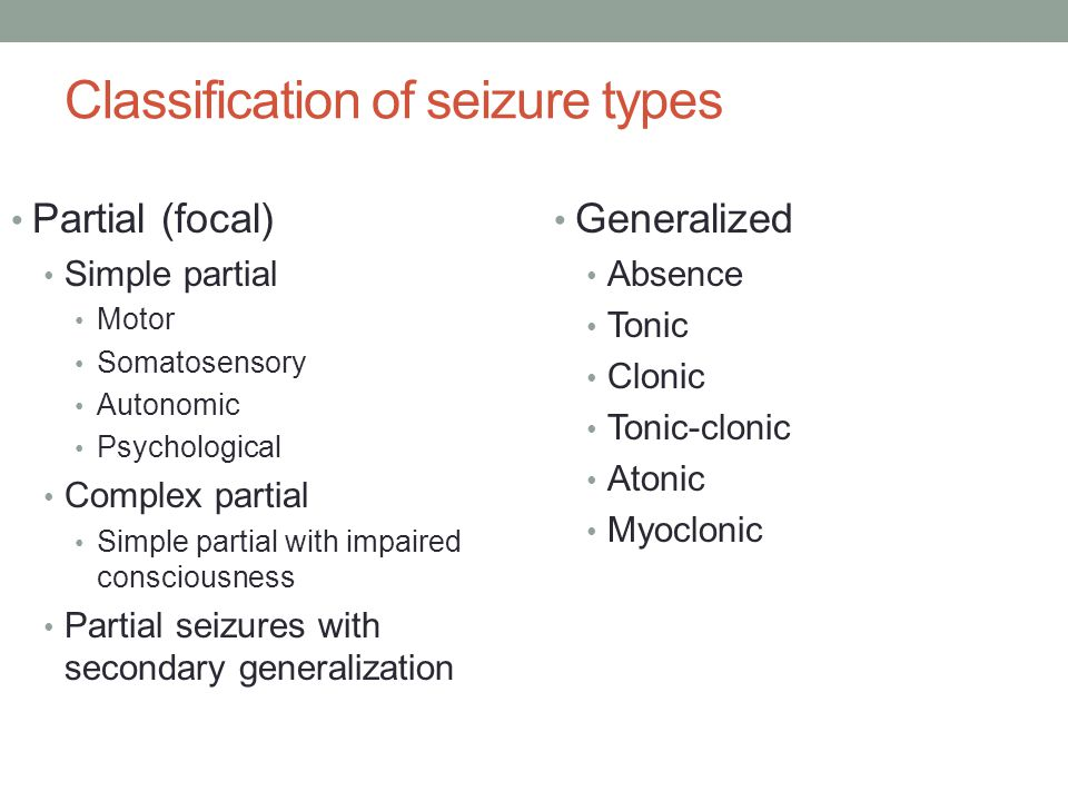 Case 5 Seizure Type: Primary generalized epilepsy with tonic-clonic seizures Loss of consciousness, no aura=generalized onset EEG with generalized discharges=generalized epilepsy