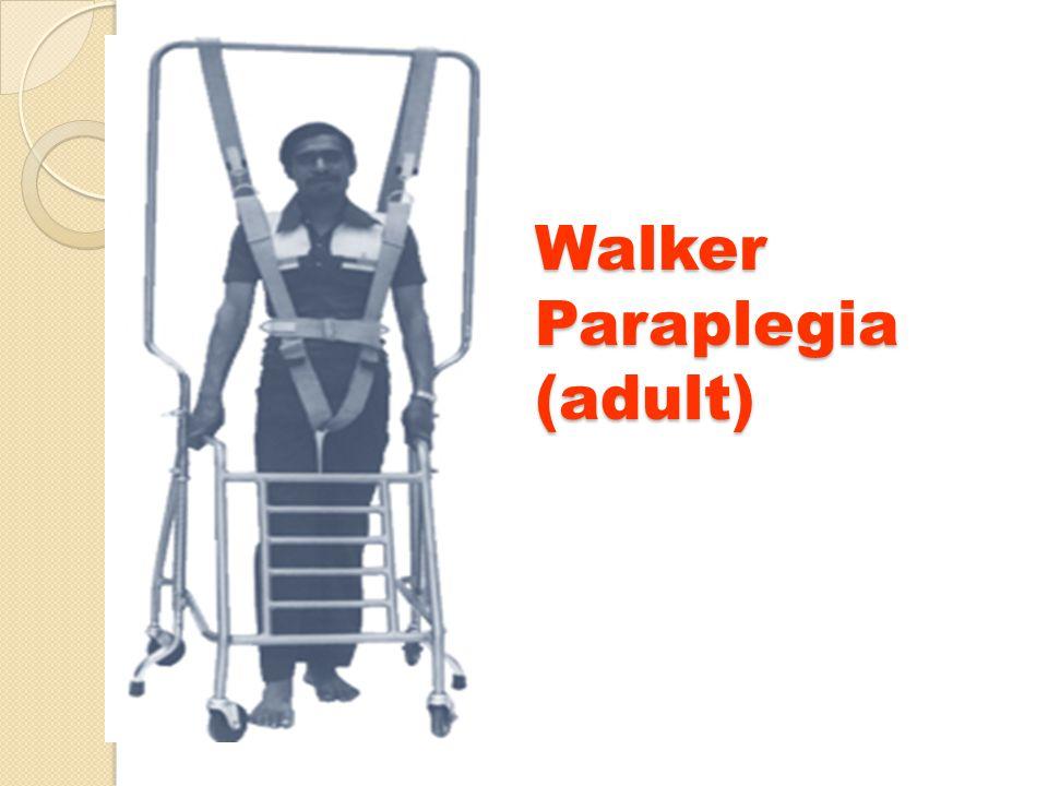Walker Paraplegia (adult)