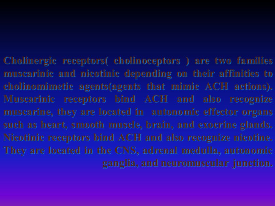 Non depolarizing ( competitive) blockers: mechanism of action: At low dose: they combine with nicotinic receptors and prevent binding with ACH so prevent depolarization of muscle cell membrane and inhibit muscular contraction.