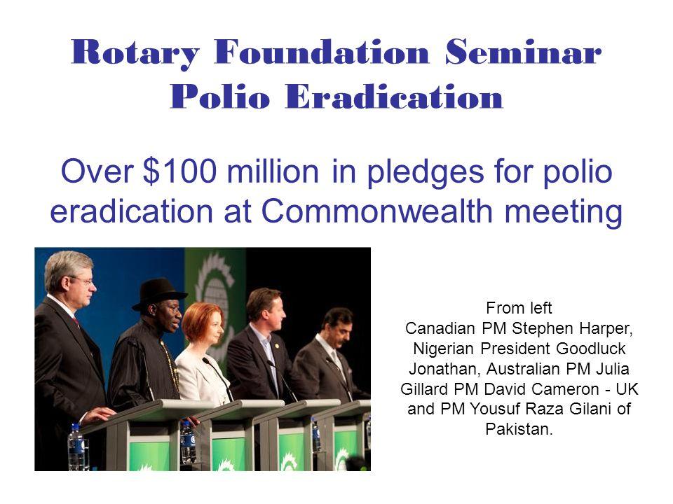 From left Canadian PM Stephen Harper, Nigerian President Goodluck Jonathan, Australian PM Julia Gillard PM David Cameron - UK and PM Yousuf Raza Gilan