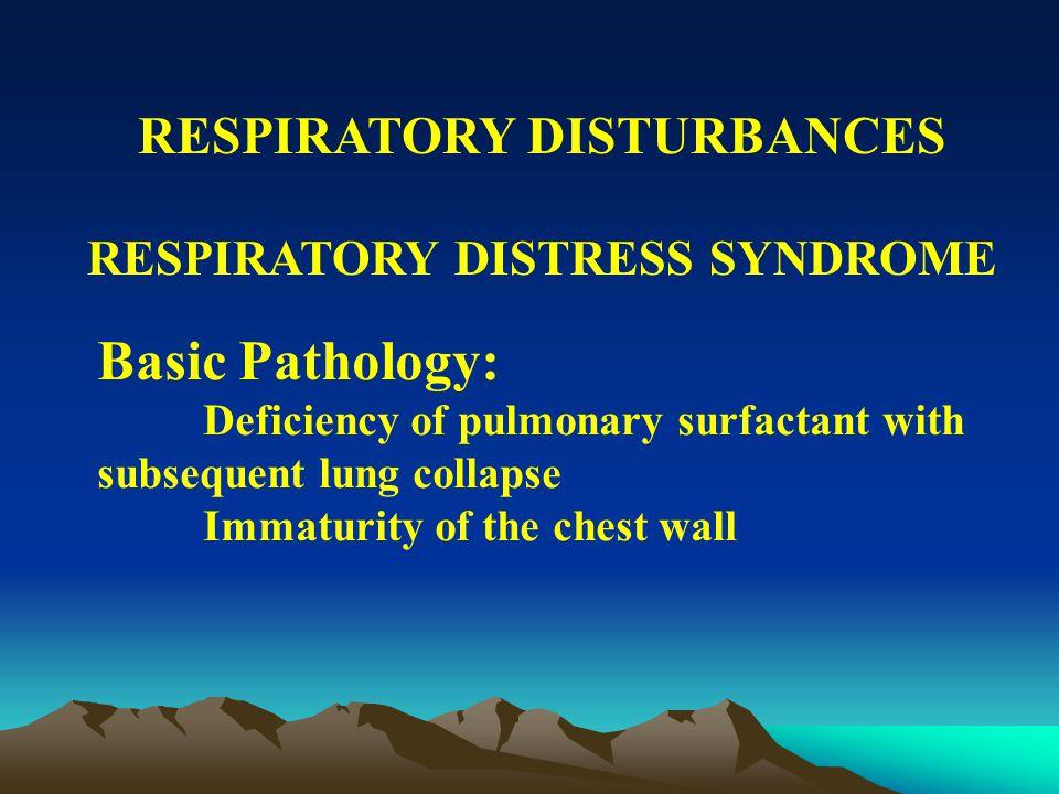RESPIRATORY DISTURBANCES STRIDOR CAUSES OF STRIDOR Choanal atresia Laryngomalacia Macroglossia Subglottic stenosis Neck masses