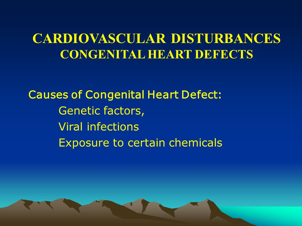 CARDIOVASCULAR DISTURBANCES CONGENITAL HEART DEFECTS COMMON CYANOTIC ABNORMALITIES : Tetralogy of Fallot: a combination of four different heart malformations allows mixing of oxygenated and deoxygenated blood pumped by the heart.