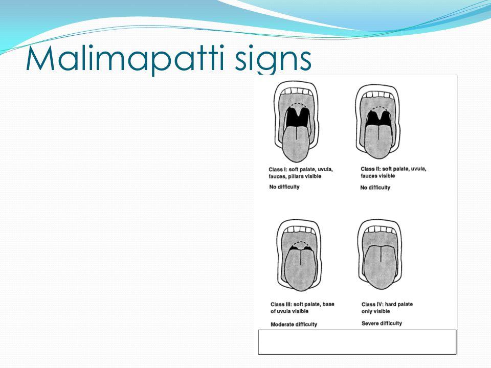 Malimapatti signs