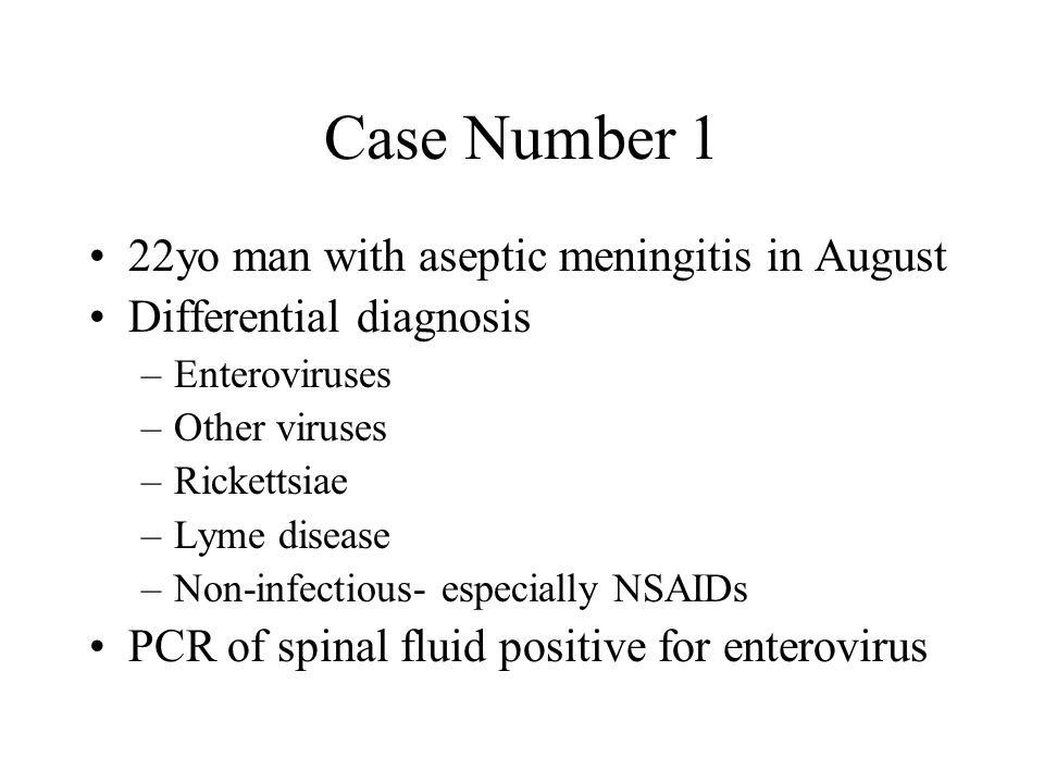 Case Number 2 EM is an 8 month old girl who is brought into her pediatrician's office in early March because of fever, vomiting, and diarrhea.