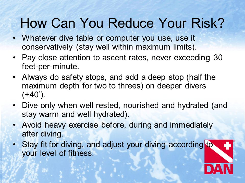 How Can You Reduce Your Risk.