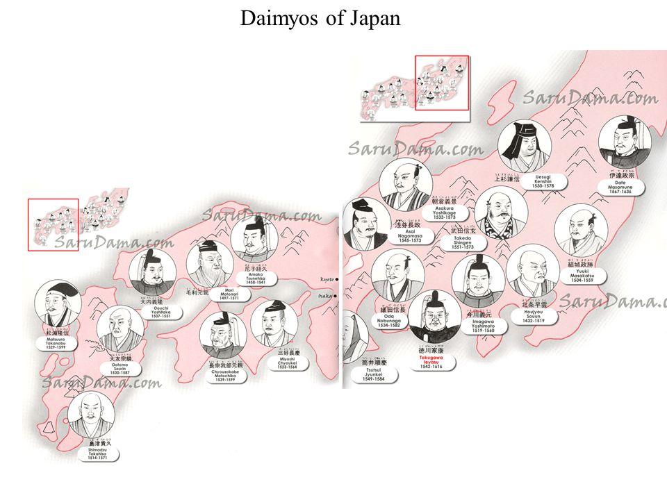 Daimyos of Japan
