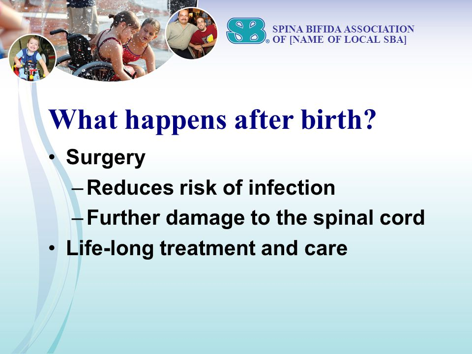 What happens after birth.