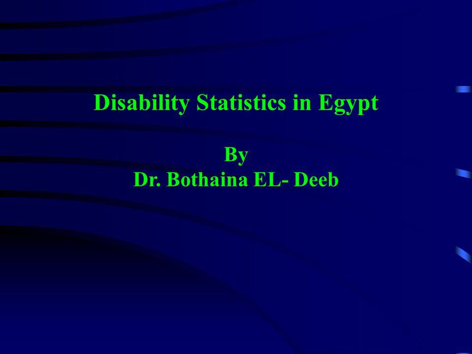 Disability Statistics in the Caribbean Region Aruba 19915.5 Bahamas 19901.5 Belize 19916.6 Bermuda 19917.6 Jamaica 1991 4.8 Saint Vincent and the Grenadines 1991 7.2