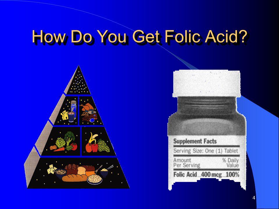 4 How Do You Get Folic Acid?
