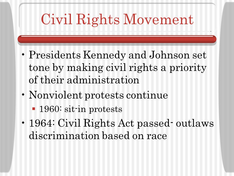 The 1960s Social Context: Civil Rights Movement Continues, Women's Empowerment The Structure and Focus of Occupational Therapy Medicare/Medicaid Important Individuals: Gail Fidler, Mary Reilly, Wilma West, Elizabeth Yerxa, A.