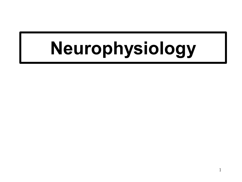 1 Neurophysiology