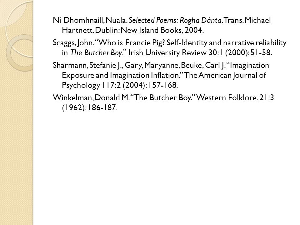 Ní Dhomhnaill, Nuala. Selected Poems: Rogha Dánta.